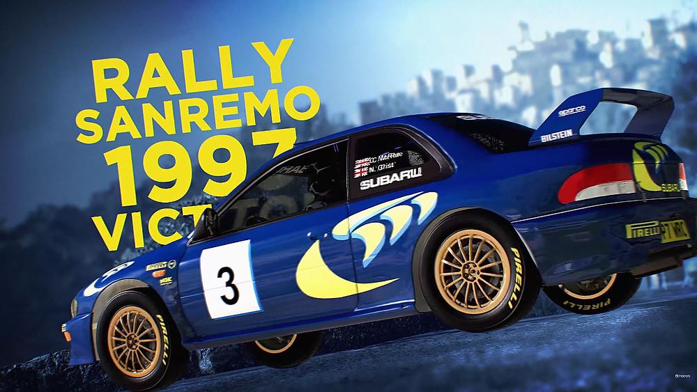 WRC 10 Rally Subaru Impreza Gameplay Colin McRae