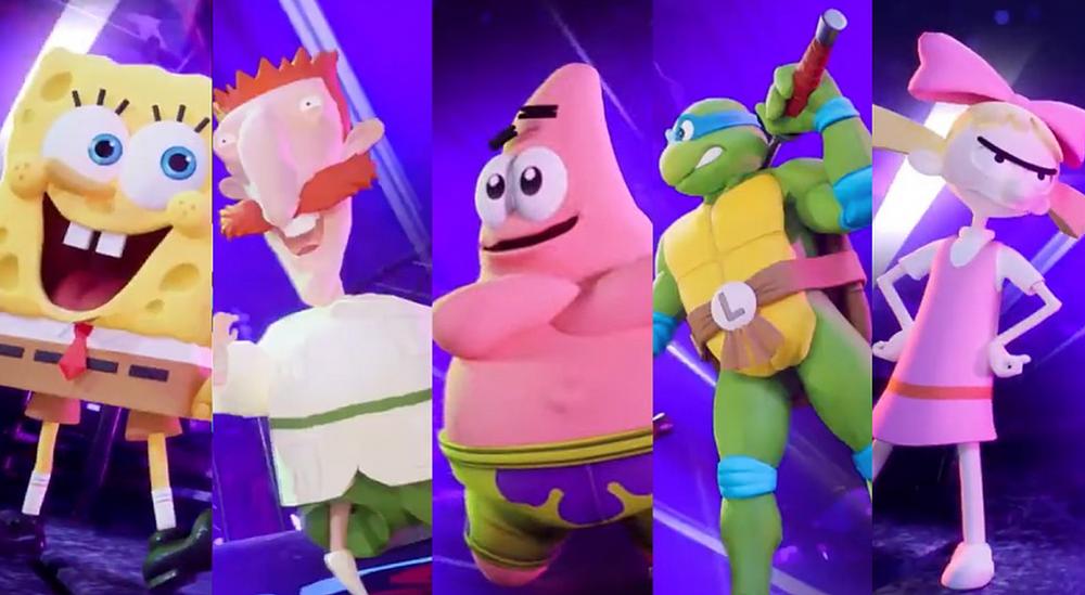 Nickelodeon All-Star Brawl Trailer