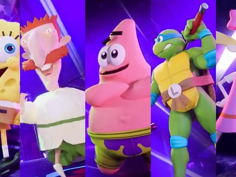SpongeBob schlägt zu in Nickelodeons All-Star Brawl