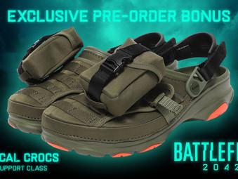 Battlefield 2042 Pre-Order Bonus: Tactical Crocs