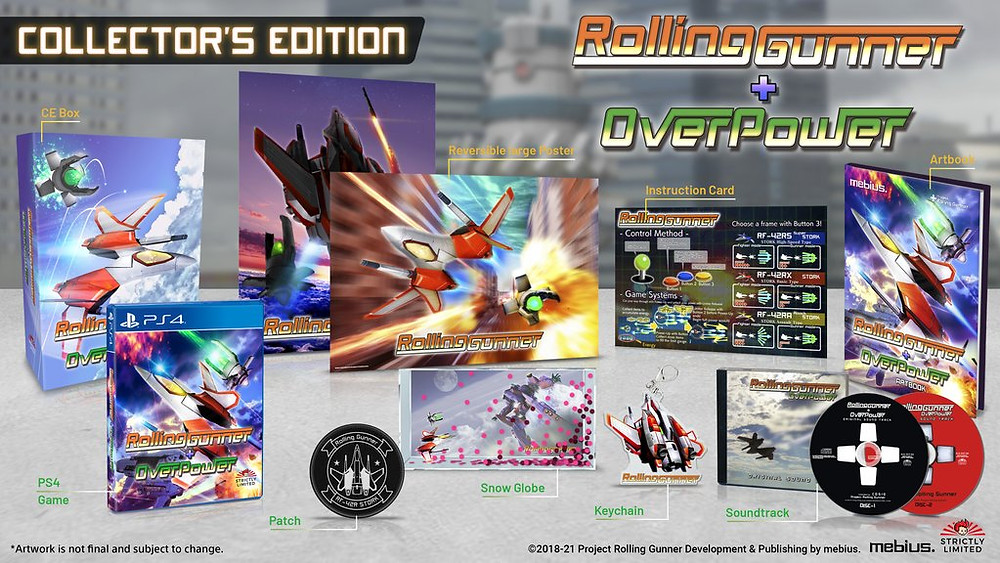 Rolling Gunner Playstation Collectors Edition Limited
