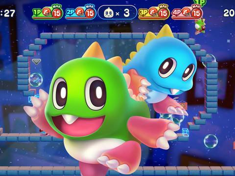 Bubble Bobble 4 Friends erscheint auf PS4 mit 100 neuen Levels
