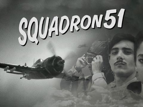 Assemble arbeitet am Shoot-em-Up Squadron 51