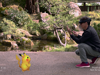 Microsoft zeigt Pokémon GO Mixed Reality Demo