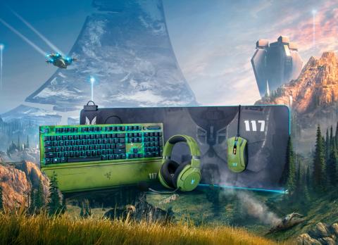 Halo Peripherie von Razer vorgestellt
