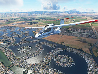 Microsoft Flight Simulator auf Xbox Series mit überarbeiteter Grafik-Engine