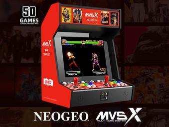 MVSX - Der offizielle NEO GEO Automat für zu Hause