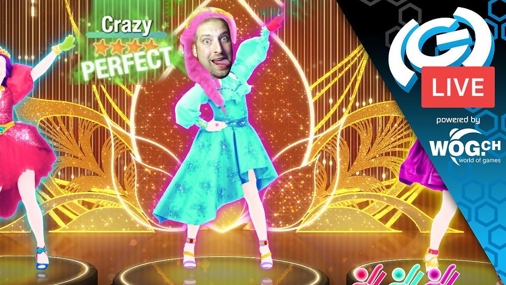 Twitch Stream Just Dance 2021 The(G)net