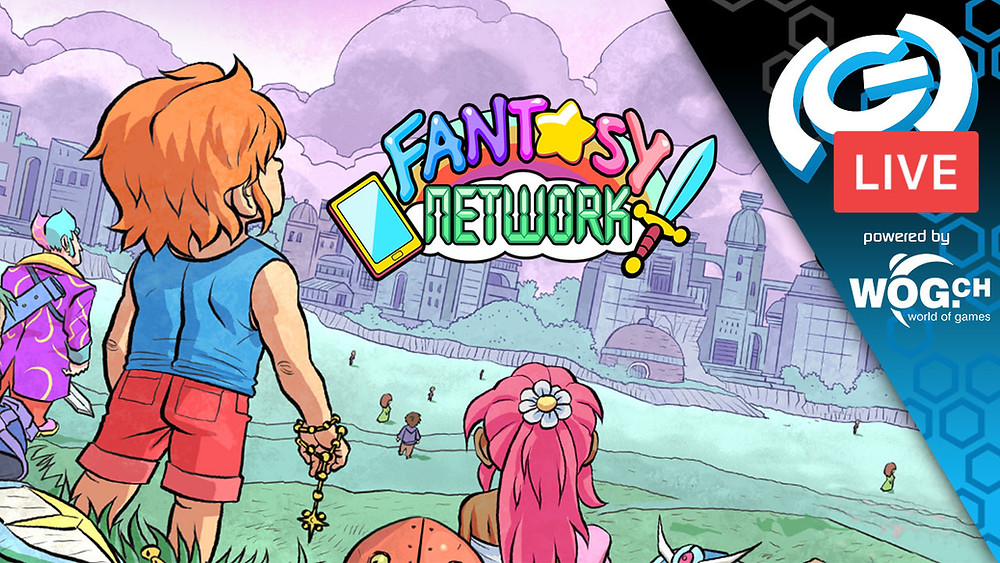 Fantasy Network Game on Twitch