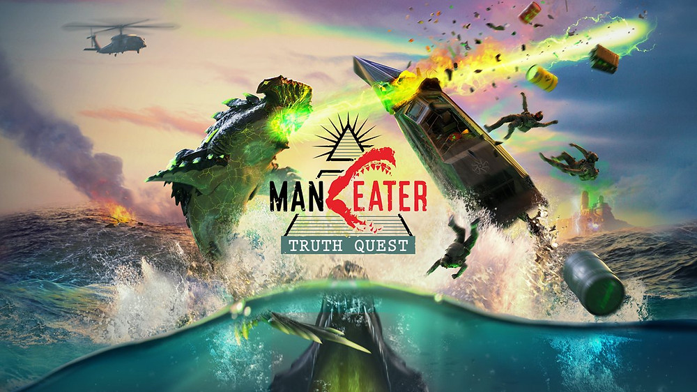 Man Eater DLC Truth Quest Playstation 5 Xbox Series X
