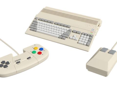 Retro Games stellt Amiga 500 Mini vor