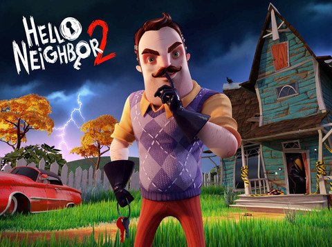 Hello Neighbor 2 in Arbeit