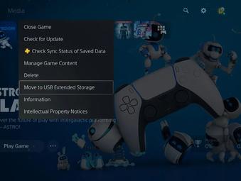 PS5: April-Update unterstützt externe Festplatten