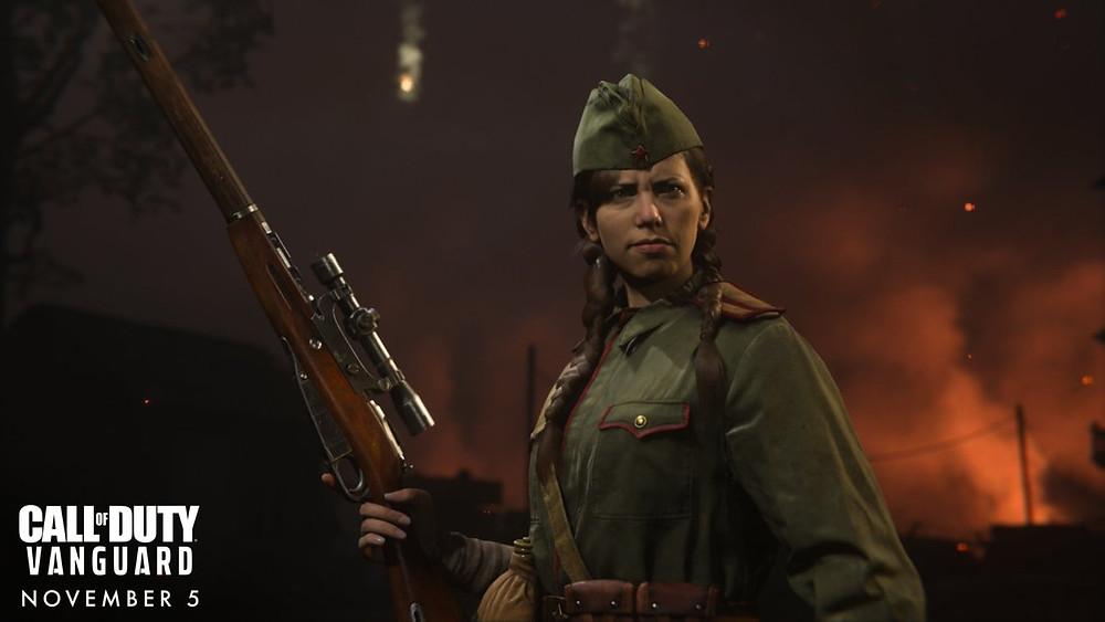 Call of Duty Vanguard Stalingrad Demo