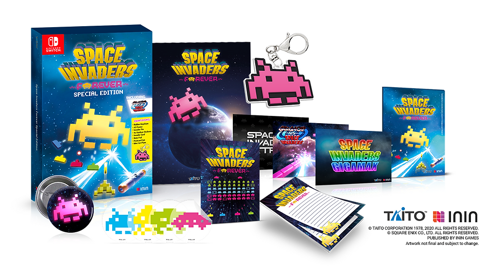 Space Invaders Forever Special Edition Nintendo Switch