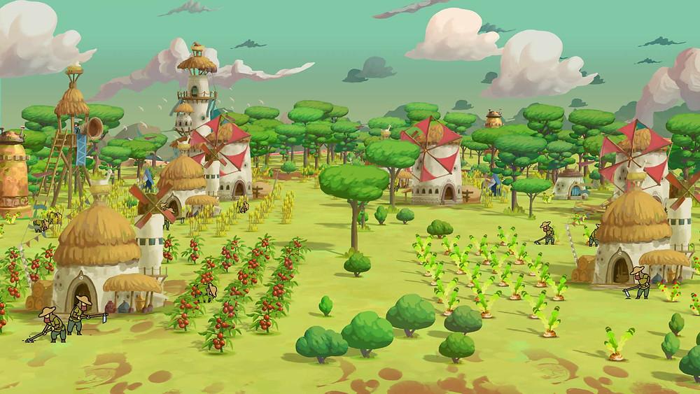 The Wandering Village Xbox Series Schweizer Game Swiss