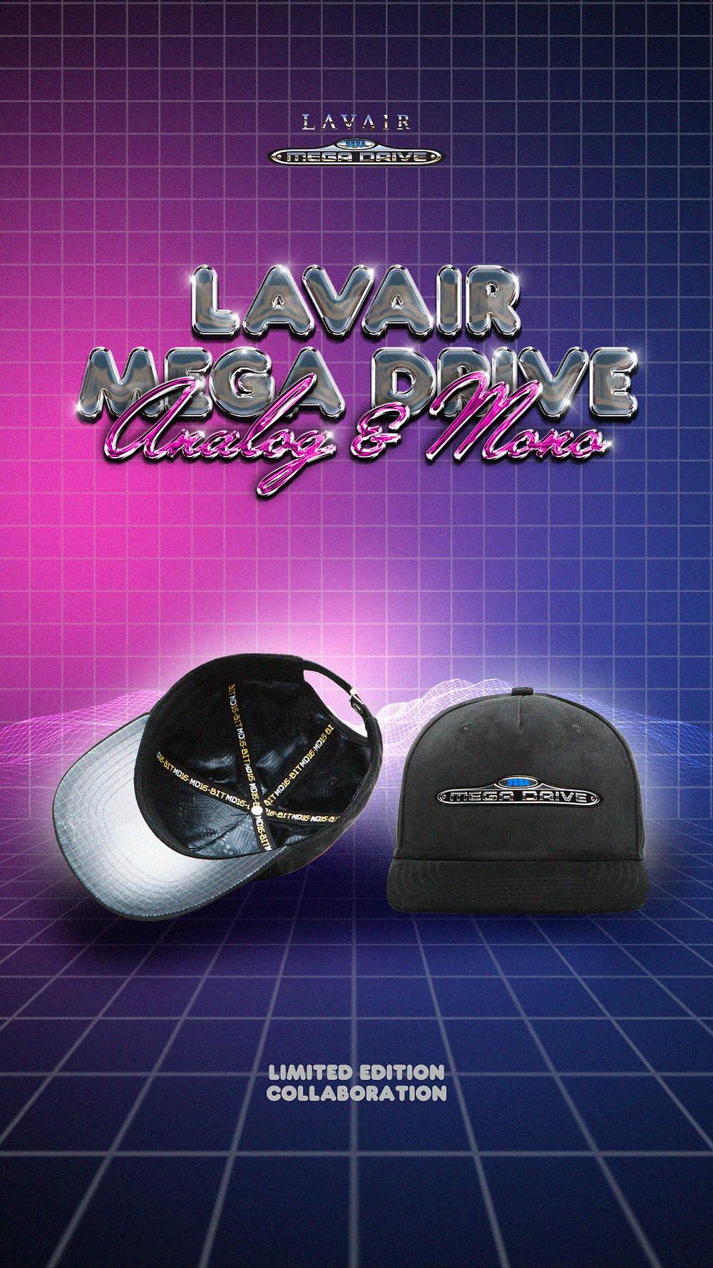 Lavair Sega Mega Drive Analog Mono Caps and Sneaker