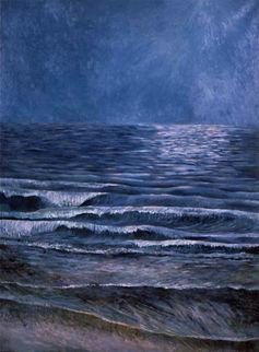 Moonlight on the Shore