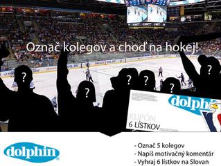S ktorými kolegami by ste chceli ísť na hokejový zápas?