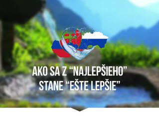Voda Dolphin sa plní v srdci Slovenska!