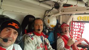 Marcel still in the race, despite suspension problems!
