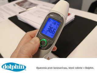 Opatrenia proti koronavírusu, ktoré robime v Dolphin