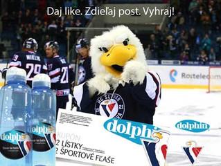 Dolphin je oficiálnym partnerom HC Slovan