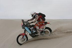 Marcel Snijders in Le Dakar Rally