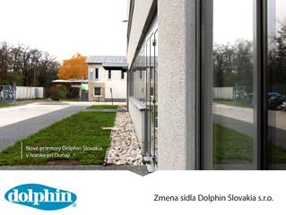 Zmena sídla Dolphin Slovakia s.r.o.