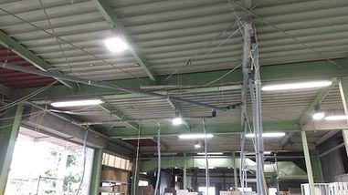 研磨吸塵の配管整備.JPG