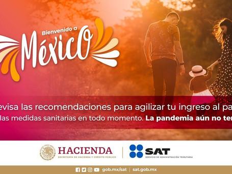 #BienvenidoAMéxico