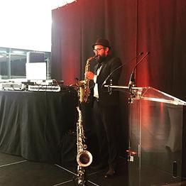 Saxophoniste soirée d'entreprise Lyon