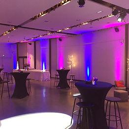Éclairage événement d'entreprise Lyon