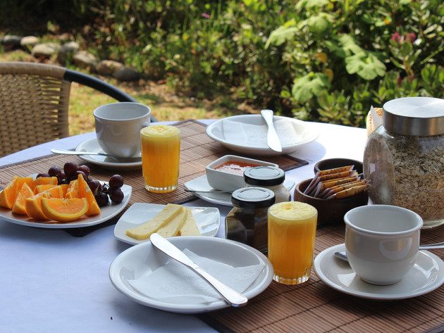 Desayuno incluído