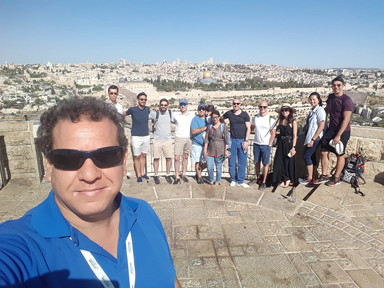 Tours in Israel - group photo
