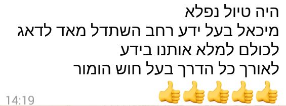 מורה דרך ישראל