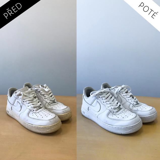 Sepatos - Prémiové mytí a péče o boty. Čištění bot Praha. Mytí bot Praha 5
