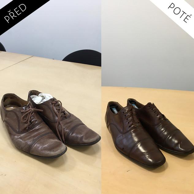 Sepatos - Prémiové mytí a péče o boty. Čištění bot Praha. Mytí bot Praha 47