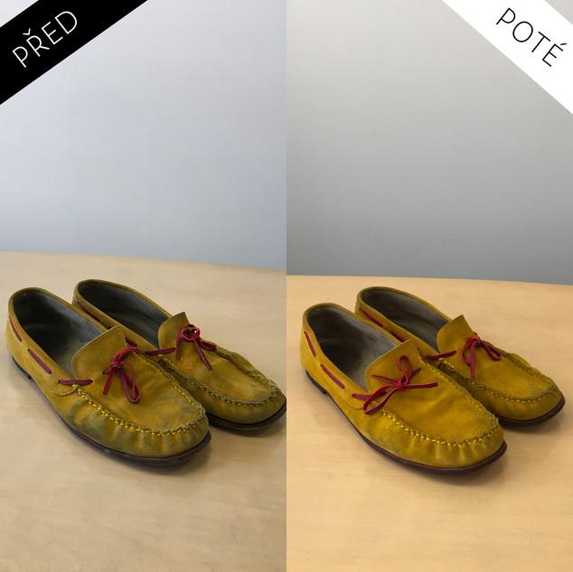 Sepatos - Prémiové mytí a péče o boty. Čištění bot Praha. Mytí bot Praha 16