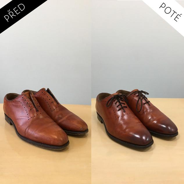Sepatos - Prémiové mytí a péče o boty. Čištění bot Praha. Mytí bot Praha 45
