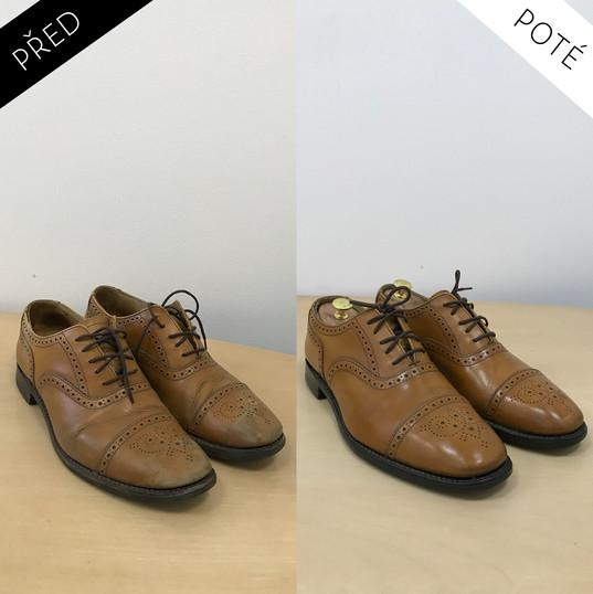 Sepatos - Prémiové mytí a péče o boty. Čištění bot Praha Mytí bot Praha 6