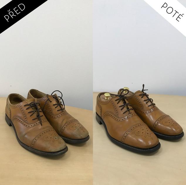 Sepatos - Prémiové mytí a péče o boty. Čištění bot Praha. Mytí bot Praha 14