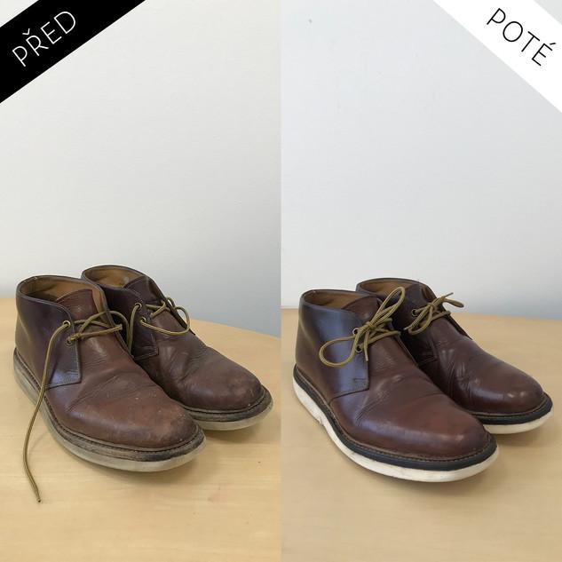 Sepatos - Prémiové mytí a péče o boty. Čištění bot Praha. Mytí bot Praha