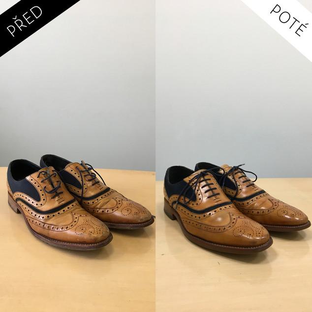 Sepatos - Prémiové mytí a péče o boty. Čištění bot Praha. Mytí bot Praha 40