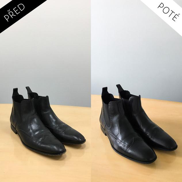 Sepatos - Prémiové mytí a péče o boty. Čištění bot Praha. Mytí bot Praha 48