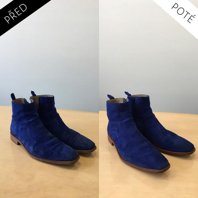 Sepatos - Prémiové mytí a péče o boty. Čištění bot Praha. Mytí bot Praha 7