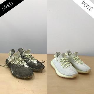 Sepatos - Prémiové mytí a péče o boty. Čištění bot Praha. Mytí bot Praha 2Yeezy 3.jpg