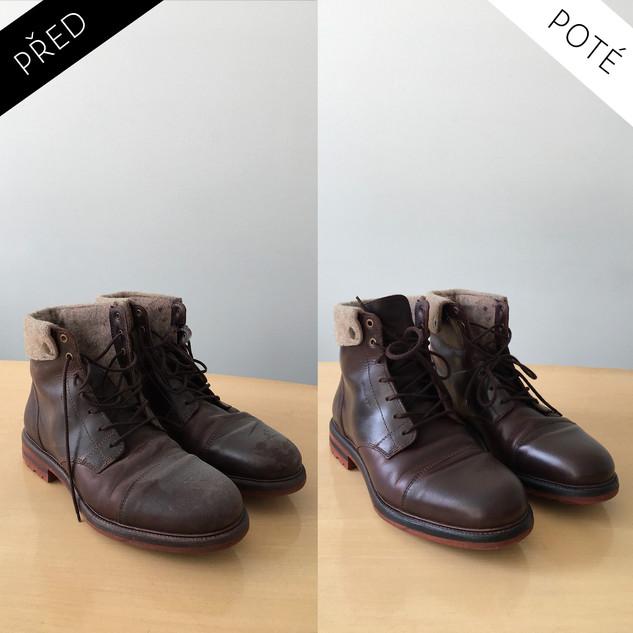 Sepatos - Prémiové mytí a péče o boty. Čištění bot Praha. Mytí bot Praha 35