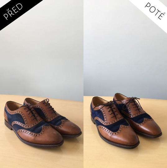 Sepatos - Prémiové mytí a péče o boty. Čištění bot Praha Mytí bot Praha 8