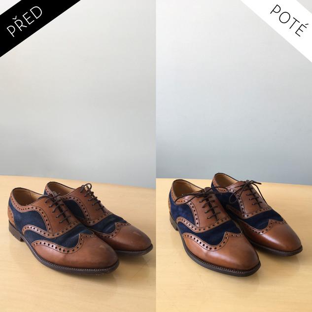 Sepatos - Prémiové mytí a péče o boty. Čištění bot Praha. Mytí bot Praha 9